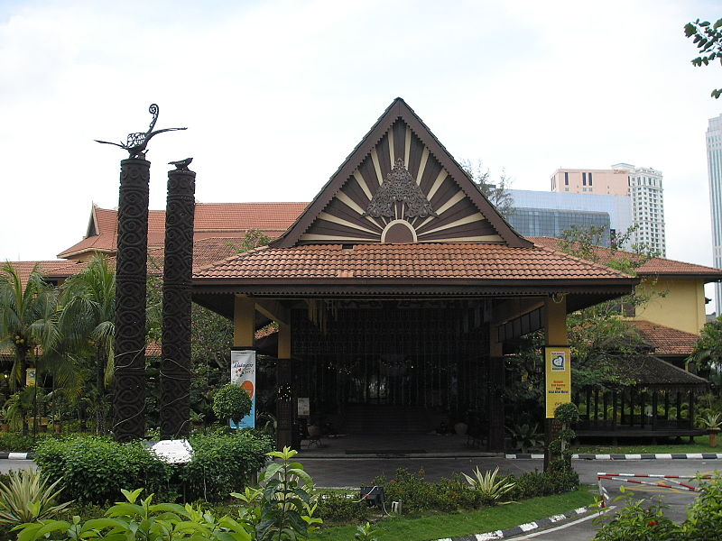 Kuala Lumpur Craft Complex in Malaysia