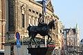 Koningin Wilhelmina statue Amsterdam (26276808965).jpg