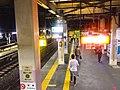 Konosu station platform - April 1 2018.jpg