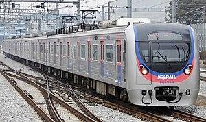 Gyeongui–Jungang Line - Image: Korail EMU Class 321000 Front