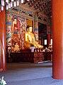 Korea-Gangwon-Woljeongsa Buddha 1731-07.JPG
