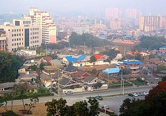 Gimje - Image: Korea Gimje Cityscape 01