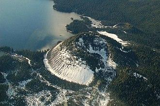 Wells Gray Provincial Park - Kostal volcano