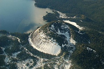 Horne Lake Flooding On Vancouver Island