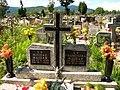 Koszarawa cemetery Majdak gravestone 2009.jpg