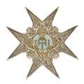 Kraschan för riddare av Serafimerorden, från 1800-talet - Livrustkammaren - 97930.tif