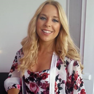 Krista Siegfrids - Image: Krista Siegfrids in May 2016 (cropped)