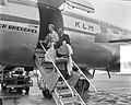 Kroonprins Jean en Prinses Josephine Charlotte van Luxemburg op doorreis op Schi, Bestanddeelnr 907-8161.jpg
