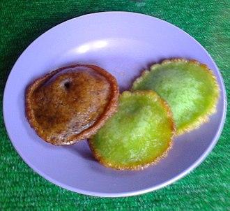 Malay cuisine - Kuih Pinjaram.
