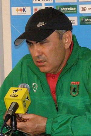 Kurban Berdyev - Berdyev has never appeared in public without his beads.