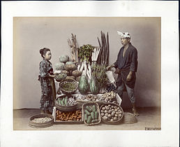 Kusakabe Kimbei - 62. Vegetables.jpg