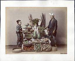 Kusakabe Kimbei - 62. Vegetables.jpg