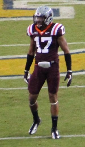 Kyle Fuller - Fuller during his tenure at Virginia Tech.