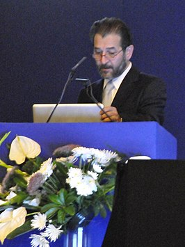 Kypros Nicolaides op het Fetal Medicine Foundation World Congress in Malta in 2011.