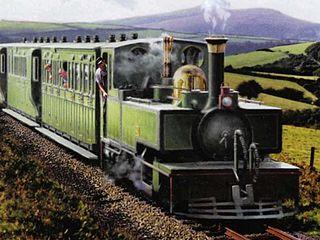 Yeo (locomotive) British narrow gauge 2-6-2T locomotive