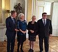 Läti välisminister Edgars Rinkēvičs, Eesti välisminister Marina Kaljurand, Rootsi välisminister Margot Wallström, Leedu välisminister Linas Linkevičius (29259476471).jpg