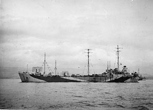 HM LST-13 - Image: LFD 13 ex LST 13 Greenock 1944