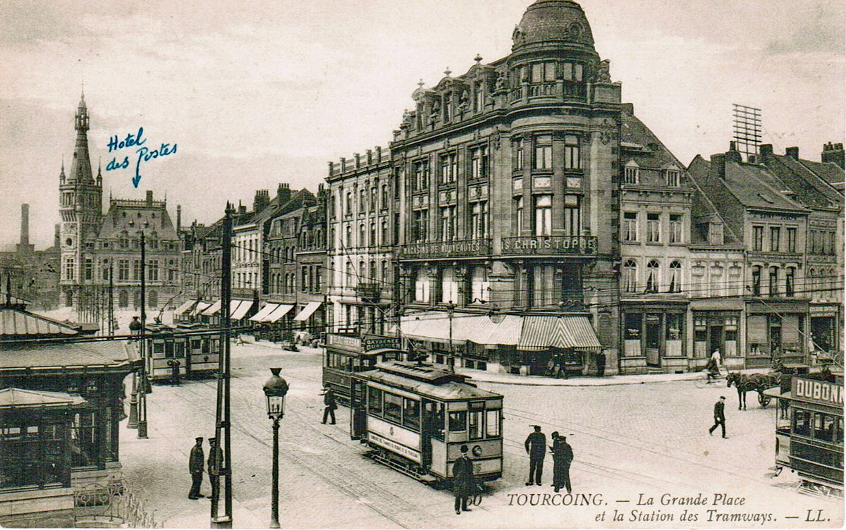 Grand place de tourcoing wikip dia for Au dela du miroir lille