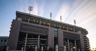 LSU Tigers and Lady Tigers - Tiger Stadium