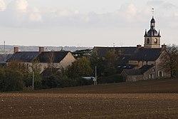 La Couyère - bourg.JPG