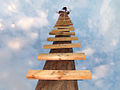 Ladder to sky Escalera al cielo Stairway to heaven.jpg