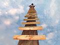 Ladder to sky Escalera al cielo Stairway to heaven.jpg