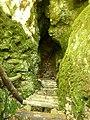 Ladder to the entrance,стълбата към входа на върпината - panoramio.jpg