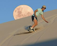 Sandboarding Wikipedia