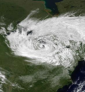 1996 Lake Huron cyclone