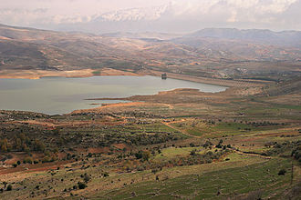 Qaraoun culture - Lake Qaraoun, ancient home of the Qaraoun culture.