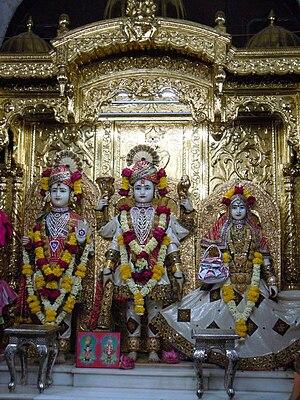 Shri Swaminarayan Mandir, Mumbai - Image: Lakshmi Narayan