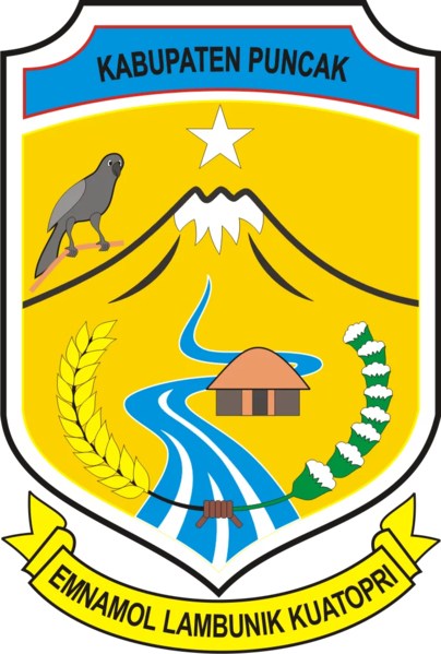 File:Lambang Kabupaten Puncak.webp