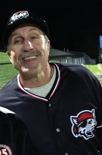 Lance Parrish - Parrish as manager of the Erie SeaWolves