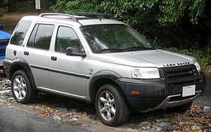 Land Rover Freelander - Pre–facelift Land Rover Freelander SE 4-door (US)