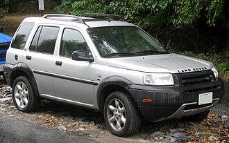 Land Rover Freelander - Pre–facelift Land Rover Freelander SE 4-door (US)