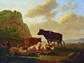 Landschap met vee door Matthijs Quispel.jpg