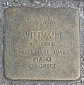 Landshut Stolperstein Wittmann, Hugo.jpg