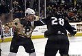 Lane MacDermid fights Jay Leach 1-16-2011.jpg