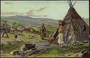 Wilhelm Peters (painter) - Image: Lappeleir (27873424552)