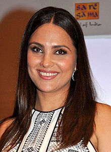 Lara Dutta launches her 'Prenatal Yoga' DVD (8)(cropped).jpg