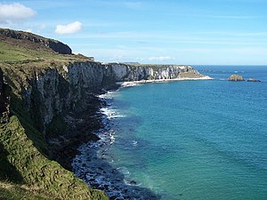What Is Dead May Never Die - Renly's camp was built at the Larrybane Bay.