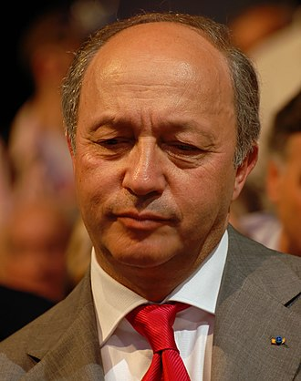 1986 French legislative election - Image: Laurent Fabius Royal & Zapatero's meeting in Toulouse for the 2007 French presidential election 0538 2007 04 19 (cropped)