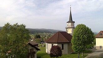 Le Chenit - Le Brassus village church
