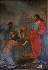 Christ and the miraculous catch