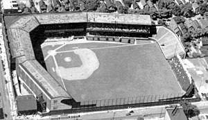 1920 Cleveland Tigers (NFL) season - Dunn Field, the home stadium of the 1920 Cleveland Tigers
