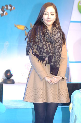 Lee Sung-hye (Miss Korea) - Image: Lee Seong hye (Korean beauty pageant titleholder) on March 21, 2012 (4)