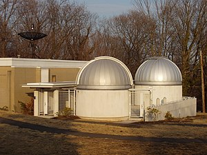 Yale University Observatory - Image: Leitner Family Observatory, Yale University