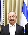 Leonard Blavatnik with the flag of Israel, February 2018 (4568) (cropped).jpg
