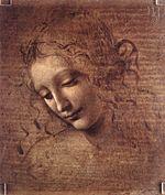 Leonardo da Vinci - Female head (La Scapigliata) - WGA12716.jpg