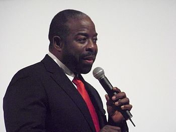 Les Brown speaking in Atlanta, Georgia.